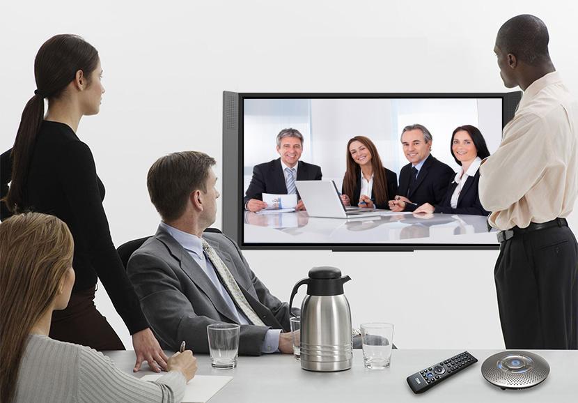 企业如何开远程视频会议?