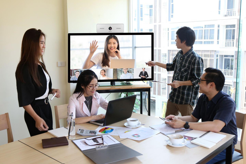 vymeet高清视频会议系统大大降低了企业的人力成本支出
